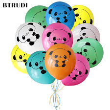BTRUDI Candy panda print cartoon balloon <b>30pcs</b>/<b>lot</b> 12inch <b>2.8g</b> ...