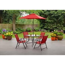 crossman piece outdoor bistro:  lovable mainstays patio furniture mainstays sand dune  piece patio dining set seats  walmart outdoor