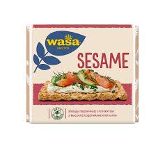 Купить Хлебцы пшеничные <b>WASA</b> С кунжутом, 200 г в торговых ...