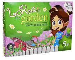 <b>Настольная игра STRATEG Lora</b> in the garden — купить по ...