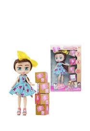 <b>Кукла 1TOY Boxy</b> Girls Brooklyn 20 см с аксесс.: цвет Цвет, 1999 ...