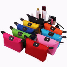 Korean <b>candy color</b> dumpling type make-up bag with <b>portable</b> and ...