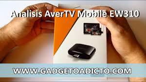 Analisis sintonizador TDT <b>AverTV Mobile</b> para Android - YouTube