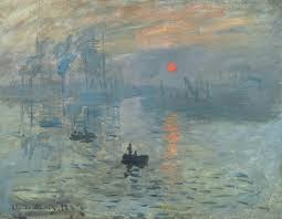 claude monet art history leaving cert claude monet impression sunrise 1872