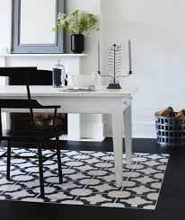 design ideas small spaces image details: bold details blackwhite rug gal bold details