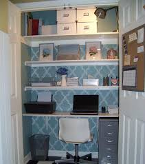 turn your closet into a home office amazing home offices 3