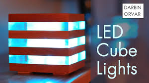 <b>LED Acrylic</b> & Wood Cube Lights - YouTube