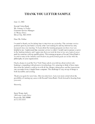 personal thank you letter sample apology letter  personal