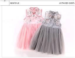 baby <b>girl</b> embroidery floral <b>cheongsam Dress Chinese Qipao</b> Child ...
