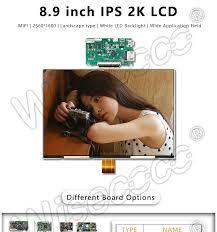"<b>8.9</b>"" <b>2K TFT LCD</b> display resolution 2560x1600 60Hz 61 pin HDMI ..."