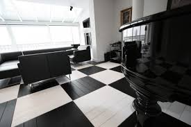 modern black and white private office black and white office design