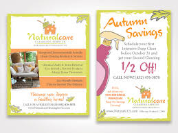 naturalcare cleaning service advertising