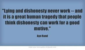 Image result for act of dishonesty