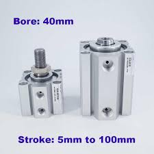 <b>Female</b>/<b>male thread bore</b> 50mm stroke 5/10/20/25/30/40/50/60/75 ...