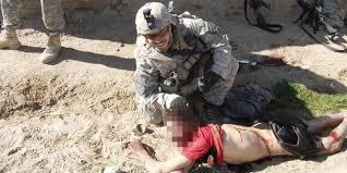 Foto-foto pembantaian anak2 Afghanistan oleh AS !