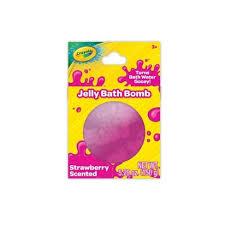 <b>Crayola</b> Jelly Bath Bomb <b>Strawberry</b> Scented - 5.29oz : Target