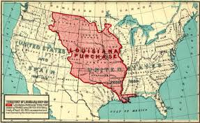 The Louisiana Purchase  The Start of American Expansion   Thesis  Go To Before the Purchase