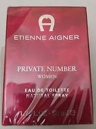 Etienne <b>Aigner Private Number</b> for Women Eau de Toilette 1.7oz ...