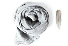 <b>Hair band muslin</b>, light grey, turban <b>hairband</b>, <b>muslin</b> intuice, knot ...