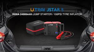<b>UTRAI 4</b>-IN-1 24000mAh 2000A Peak Current <b>Jump Starter</b> Jstar 5