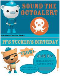 boy mama an octonauts birthday party boy mama teacher mama boy mama teacher mama an octonauts birthday party invitation