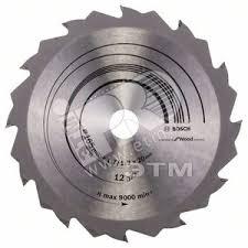 <b>Диск</b> циркулярный <b>165х20мм</b> 12 зубьев (2.608.642.600) <b>BOSCH</b> ...