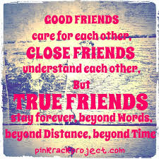 Resultado de imagen para good  friendship quotes