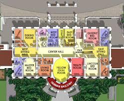 Second Floor   White House MuseumWhite House Residence Second Floor