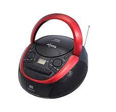 Axess Top-Loading Portable Boombox CD/MP3 USB ... - Amazon.com