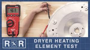 Ge Electric Dryer Heating Element General Electric Ww02a00049 Continuity Test Dryer Heating