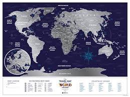 """<b>Скретч</b>-<b>карта</b> """"Holiday <b>World</b>"""" (80х60 см) : купить в интернет ..."""