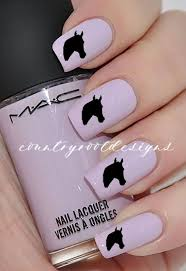 Horse Head <b>Vinyl</b> Fingernail Decals, <b>Nail</b> Art, Animal <b>Nail</b> Art, Horse ...