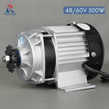 <b>500W DC 48V</b>/60V <b>Brushless</b> Motor Electric Bicycle Gear Motor ...