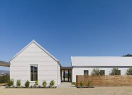 healdsburg residence this is an example of a large farmhouse white one story wood gable roof blueprints office desk preview save