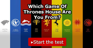 Which <b>Game Of Thrones House</b> Are You From?