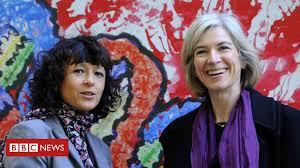 Two women share chemistry Nobel in historic win for 'genetic <b>scissors</b>'