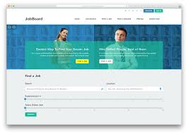 employment website template wordpress theme and templates top html job board websites templates colorlib