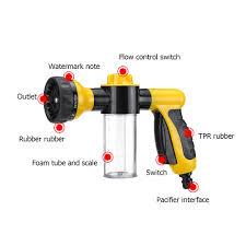 High Pressure <b>Multifunction</b> 8 in 1 Jet Spray G un <b>Soap Dispenser</b> ...