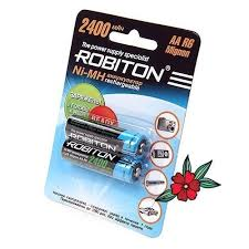 Аккумуляторы <b>Robiton</b> HiMH 1.2V – купить в Москве, цена 360 руб ...