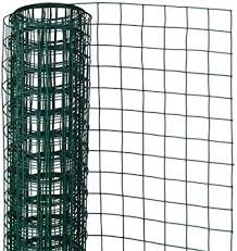 <b>Nature Garden Fence</b> Wire Mesh Square Green 0.5x2.5 m Outdoor ...