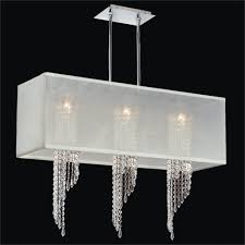amazing of white chandelier with shades hanging modern chandelier with white rectangular shades and 3 chic crystal hanging chandelier furniture hanging