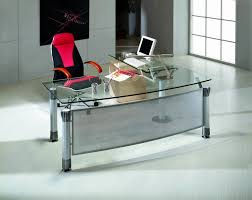image of amazing glass office desk amazing glass office desks
