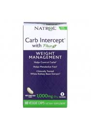 <b>Carb Intercept</b> with <b>Phase</b> 2 1000 мг 60 капс (Natrol ...
