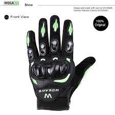 <b>WOSAWE Hard Shell Motorcycle</b> Gloves PVC Palm Pad Guantes ...