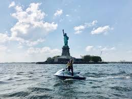 Jet Ski NYC with Sea The City Adventures WanderLust.