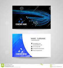business card vector blue light line is about network relationship business card vector blue light line is about network relationship and technology