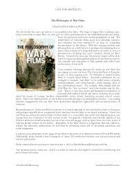 An essay on war