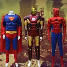with adult muscular superman iron man batman captain america spider man 2 batman superman iron man