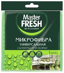 Купить <b>Салфетка универсальная Master FRESH</b> микрофибра по ...