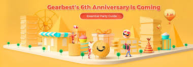 Gearbest's 6th Anniversary is Coming!